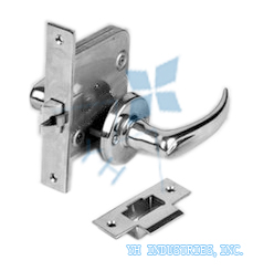 Mortise Latches with Lever Handle